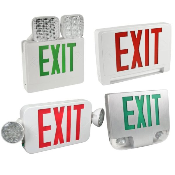 EXIT/EMERGENCY LIGHTS